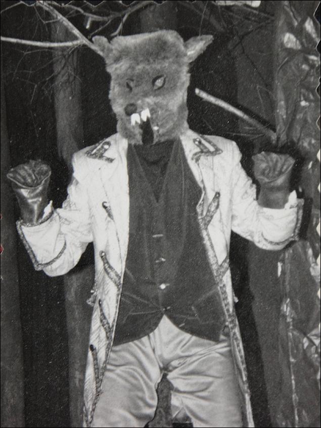 Tom Kitt: Me as The Wolf