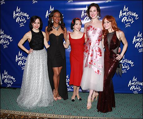 Sara Esty, Taeler Cyrus, Allison Walsh, Sarrah Strimel and Candy Olsen