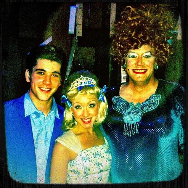 Hairspray 4 years ago! (Adam Kaplan, Libby Servais, Preston Dyar)