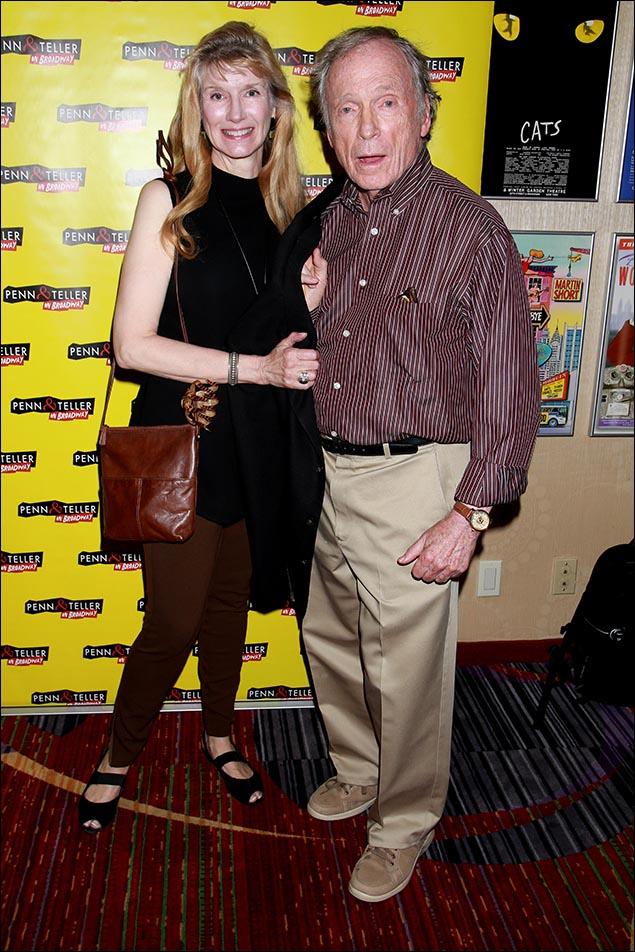 Martha Rogers Cavett and Dick Cavett