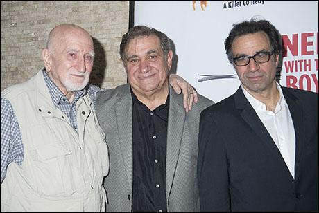 Dominic Chianese, Dan Lauria, Ray Abruzzo