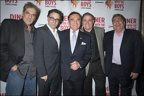 Frank Megna, Ray Abruzzo, Tony Lo Bianco, Dan Lauria, Richard Zavaglia
