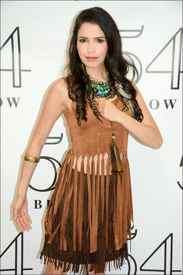 Arielle Jacobs as 'Pocahontas'