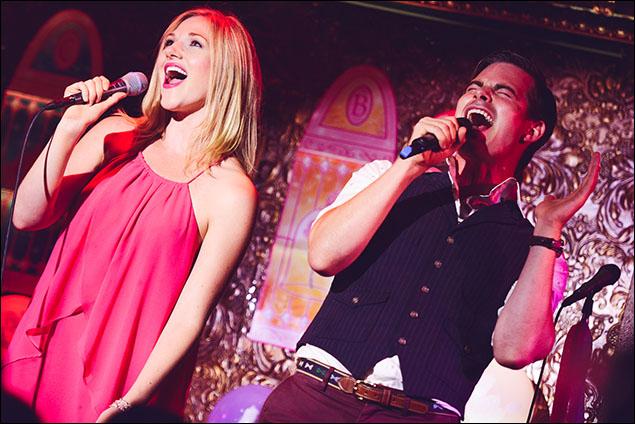"Steffanie Leigh and Matt Shingledecker sing ""Wake Me Up Before You Go-Go"""