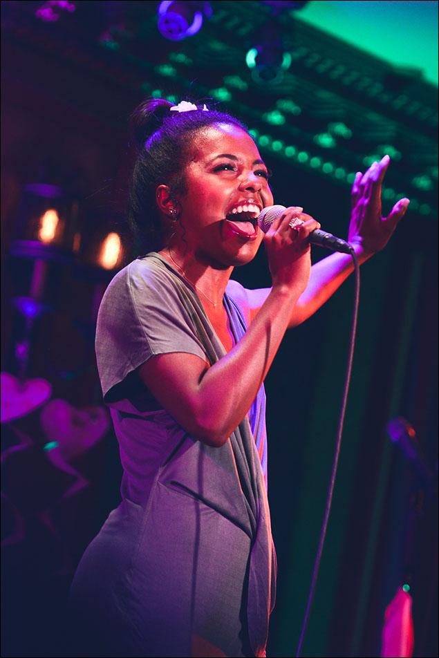 "Adrienne Warren sings ""Almost There"""