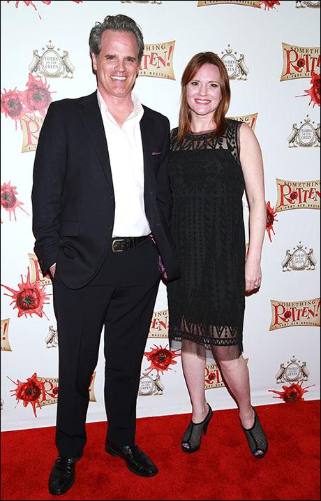 Michael Park and Jennifer Laura Thompson