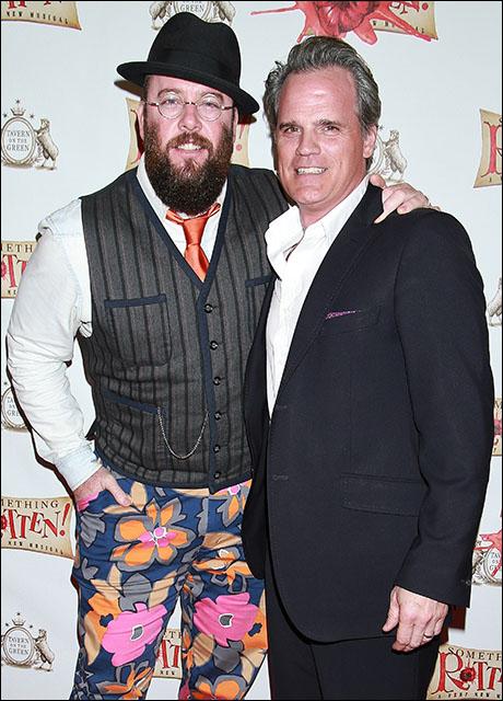 Chris Sullivan and Michael Park
