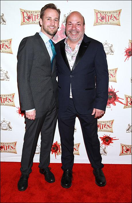 Josh Marquette and Casey Nicholaw