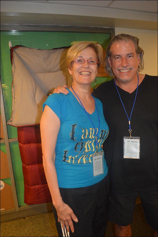 Karen Mason and Gabriel Barre