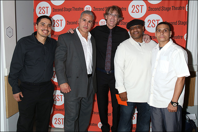 Jeffrey Rivera, Rick Norat, Dick Scanlan, Andre Christopher Kelly and Felix Machado