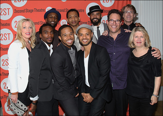 Sherie Rene Scott, Daniel J. Watts, Donald Webber Jr., Chris Myers, Derrick Baskin, Ryan Quinn, Nicholas Christopher, Michael Mayer, Dick Scanlan and Carole Rothman