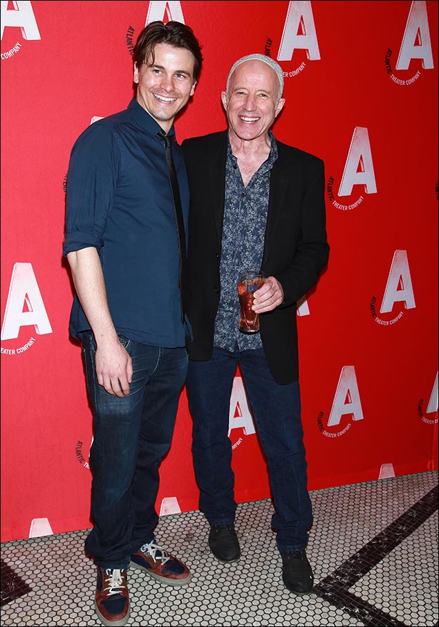 Jason Ritter and Arliss Howard