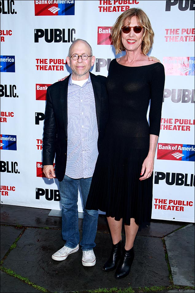 Bob Balaban and Christine Lahti