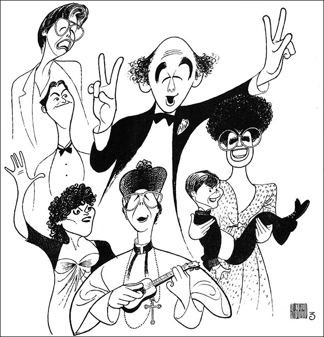 Mayor Lenny Wolpe, Kathryn Mcateer, Keith Curran, Ilene Kristan, Doug Bernstein, Ken Jennings, and Nancy Giles, 1985 Warren Leight and Charles Strouse's musical based on New York Mayor Ed Koch's memoir, depicts a single day in the life of the city's leader