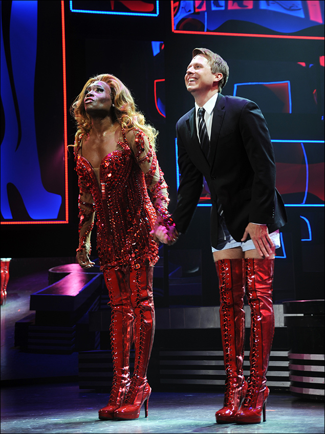 Billy Porter and Steven Booth