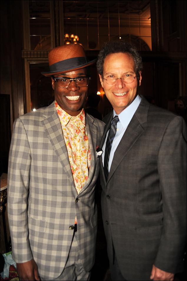 Billy Porter and Pittsburgh CLO Executive Producer, Van Kaplan