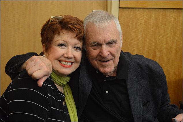 Donna McKechnie and John Kander