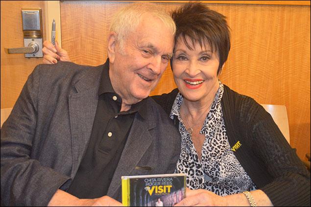 John Kander and Chita Rivera