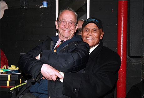 Joel Grey and Harry Belafonte