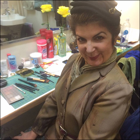 D! (Diana DiMarzio) The Mayor's wife is always ready for a matinee. (She eats high C's for breakfast.)