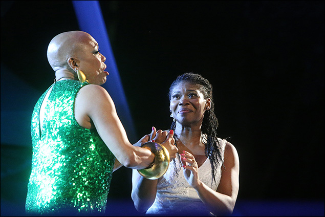 Dee Dee Bridgewater and Darlesia Cearcy