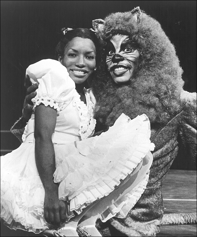 Stephanie Mills and Gregg Baker in the revival