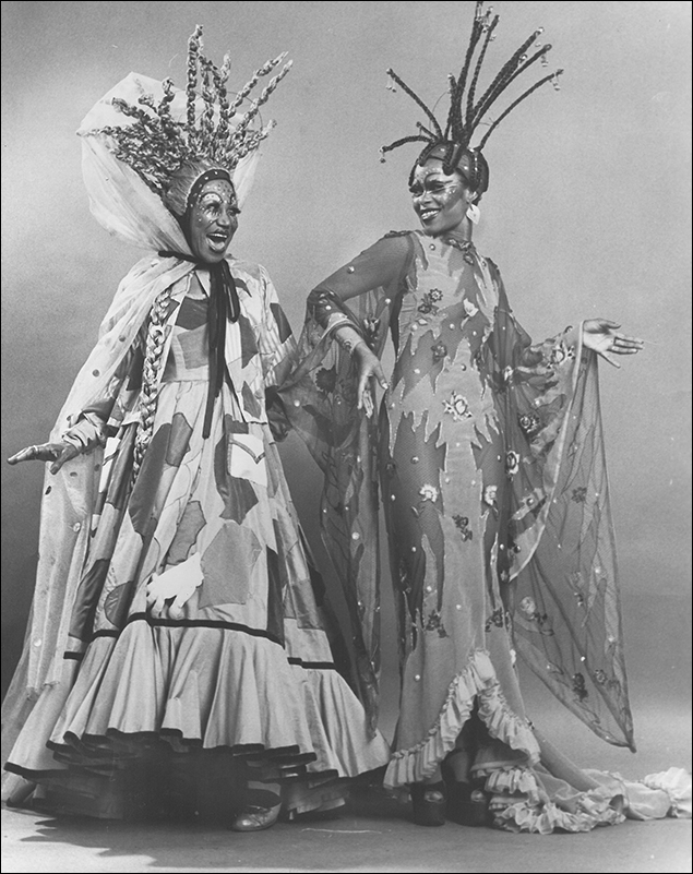 Clarice Taylor and Deborah Burrell