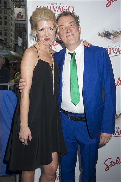 Kelly Devine and Des McAnuff