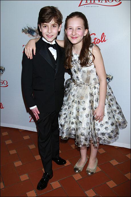Jonah Halperin and Sophia Gennusa