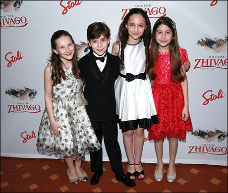 Sophia Gennusa, Jonah Halperin, Ashley Brooke and Ava-Riley Miles