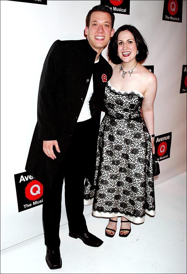 John Tartaglia and Stephanie D'Abruzzo