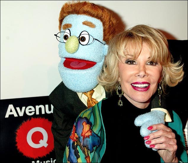 Rod and Joan Rivers