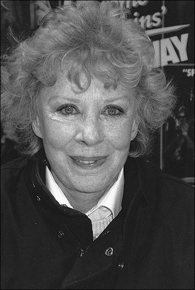 Gwen Verdon, 1989
