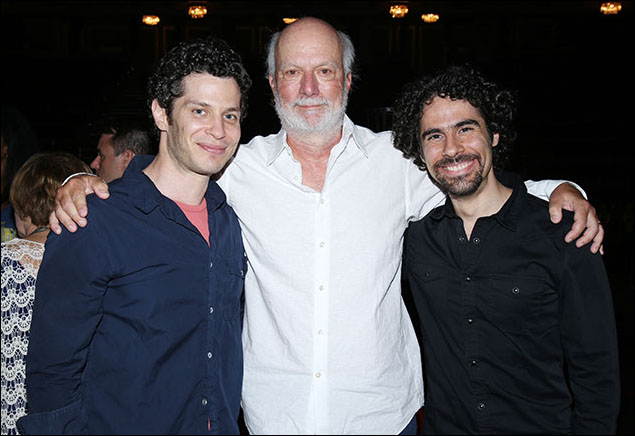 Thomas Kail, James Burrows and Alex Lacamoire