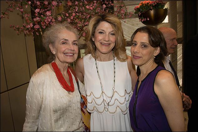 Mary Beth Peil, Victoria Clark and Judy Kuhn