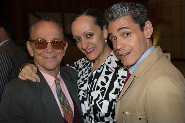 Joel Grey, Isabel Toledo and Ruben Toledo