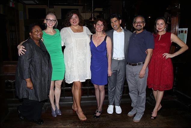 Myra Lucretia Taylor, Tina Benko, Liesl Tommy, Deborah Zoe Laufer, Pun Bandhu, Jesse J. Perez and DeLanna Studi