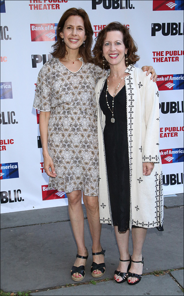 Jessica Hecht and Betsy Aidem