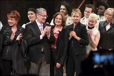 Donna McKechnie, Michael Serrecchia, Kelly Bishop, Nancy Lane and Patricia Garland