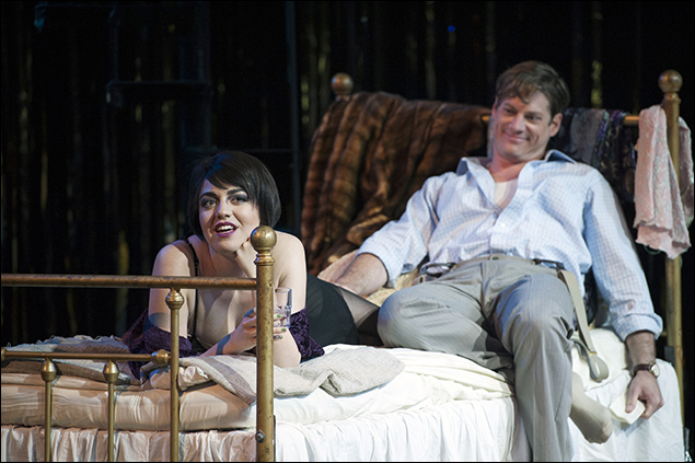 Barrett Wilbert Weed (Sally) and Gregory Wooddell (Cliff)