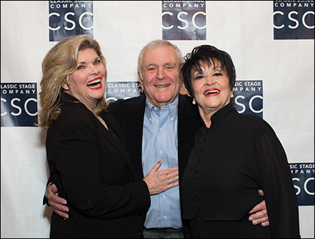 Debra Monk, John Kander and Chita Rivera
