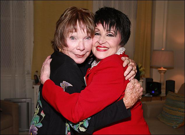 Shirley MacLaine and Chita Rivera