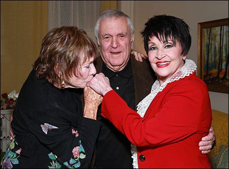 Shirley MacLaine, John Kander and Chita Rivera