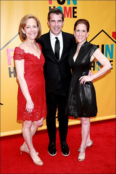 Barbara Whitman, Mike Isaacson and Kristin Caskey