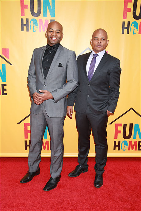 Brandon Victor Dixon and Warren Adams