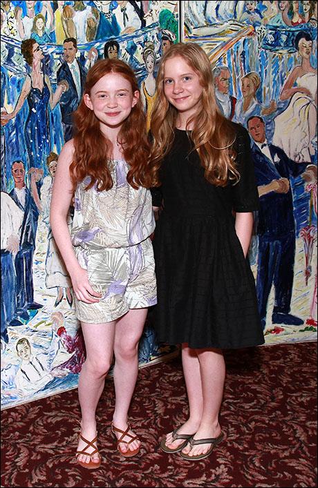 Sadie Sink and Elizabeth Teeter