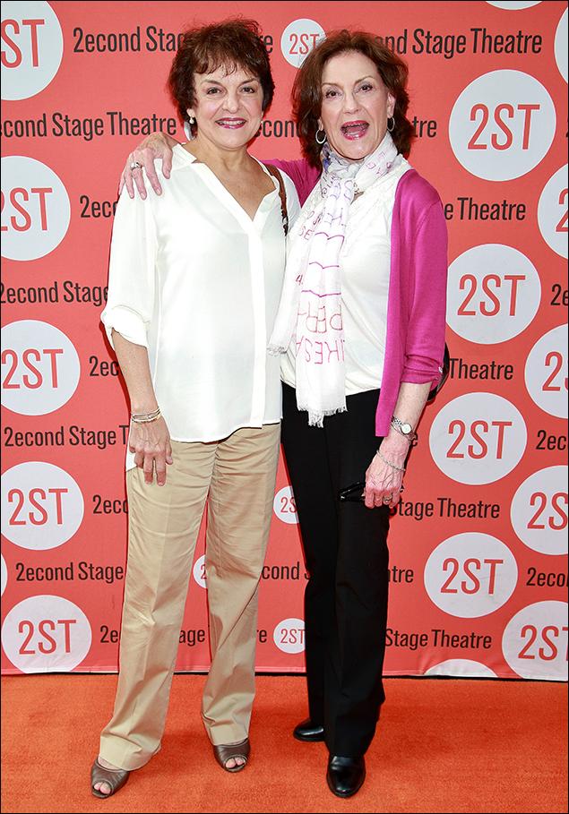 Priscilla Lopez and Kelly Bishop