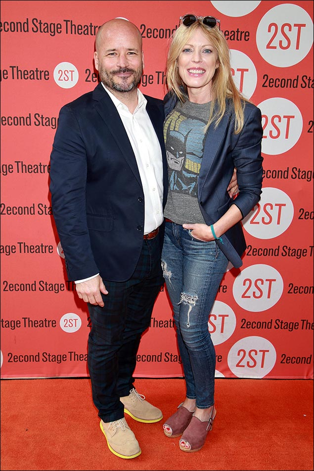 Michael Arnold and Sherie Rene Scott