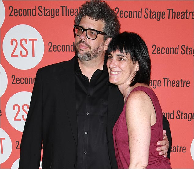 Neil LaBute and Leigh Silverman