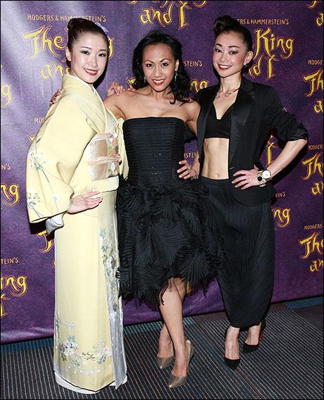 Michiko Takemasa, LaMae Caparas and Sumie Maeda